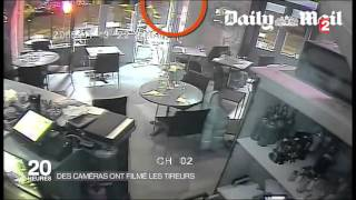 caméra surveillance de la pizzeria attaquée le 13 novembre 2015