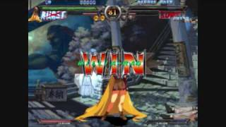 Guilty Gear X2 PC gameplay