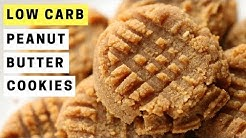 3 Ingredient Peanut Butter Cookies Recipe | LOW CARB and Great For KETO