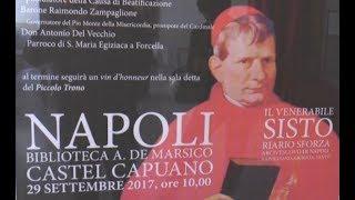 Napoli - Il ricordo del cardinale Sisto Riario Sforza (02.10.17)