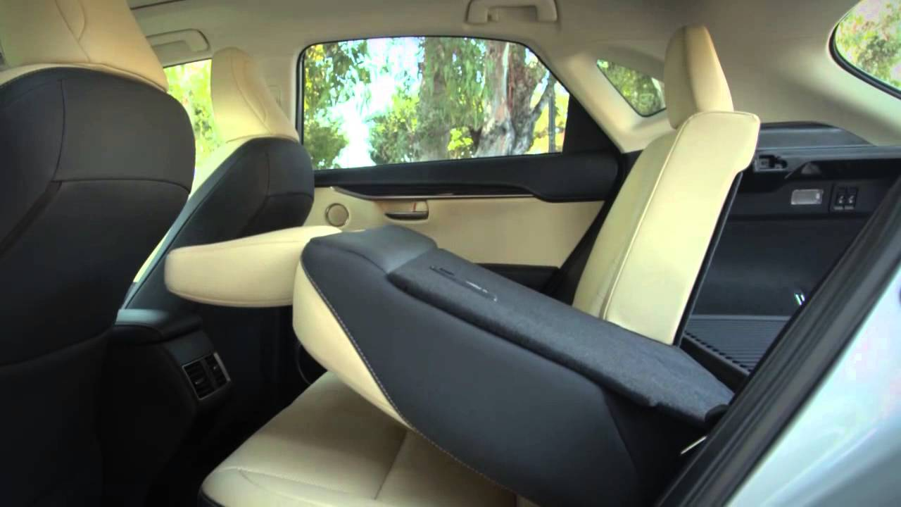 Nx Power Folding Rear Seat Youtube