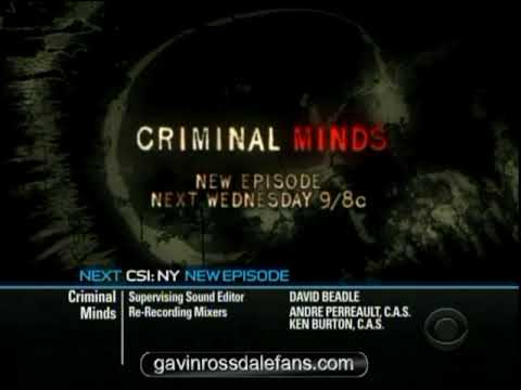 Gavin Rossdale: Criminal Minds - Preview