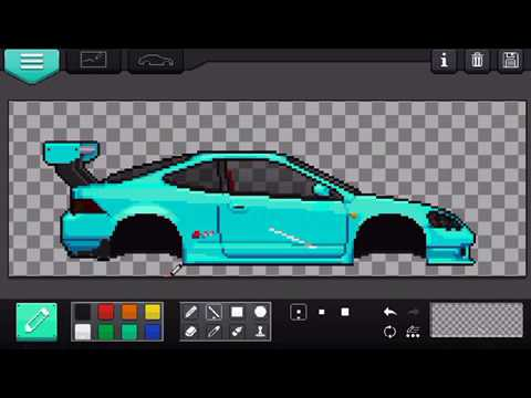 Pixel car racer tutorial how to use the livery maker youtube