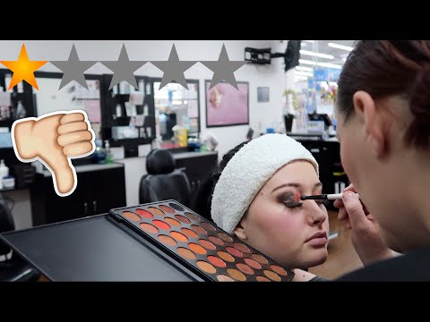 I Went To The WORST Reviewed MAKEUP ARTIST In My City (1 STAR) thumbnail