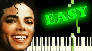 MICHAEL JACKSON  HUMAN NATURE  Easy Piano Tutorial