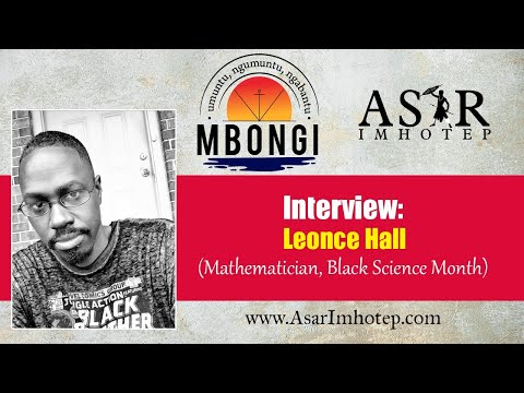 Interview: Leonce Hall (Mathematician, Black Science Month)
