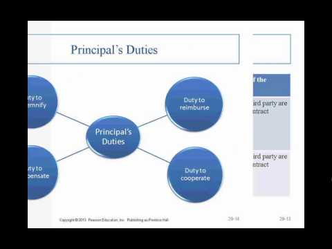 Business Law II - Professor Sharma (Lecture 4, Chapter 29 -
