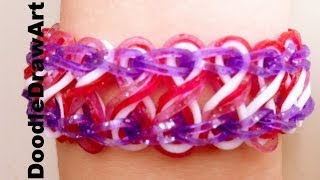 Craft: Taffy Twist - How to Make a Taffy Twist Bracelet on Rainbow Loom - Step by Step tutorial