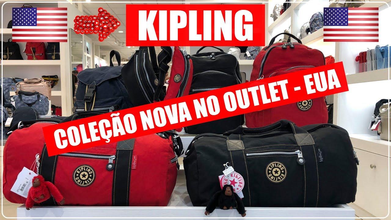 f8b311c32 KIPLING com PREÇOS + COLEÇÃO NOVA 2019 no OUTLETS PREMIUM em ORLANDO ...