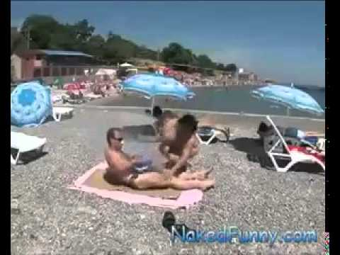 camara oculta en la playa