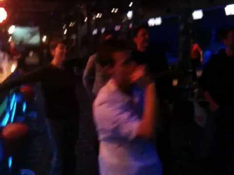 Probe karaoke in Lodz