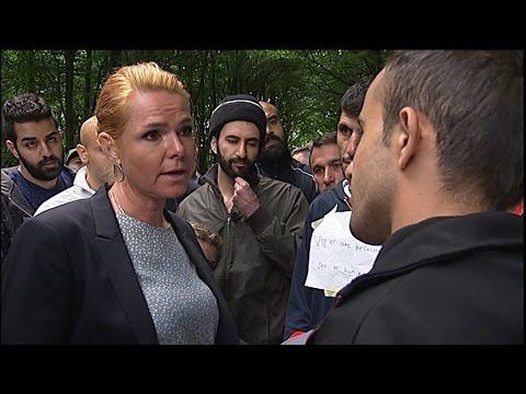 Støjberg til asylansøger: Det nytter ikke noget - du skal ud - DR Nyheder
