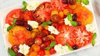 3 *NEW* Summer Salads | Fresh Caprese, Creamy Cucumber & Grilled Corn