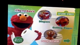 Sesame Street Elmo Potty Time 2006 DVD Menu
