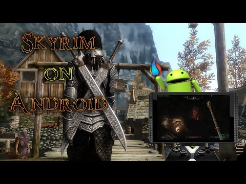 Skyrim: Special Edition on Android [LiquidSky] [Cloud Gaming]