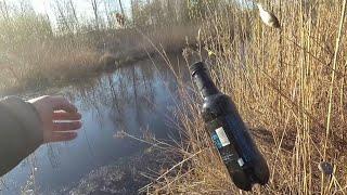 Бутылка самоловка на щуку для ловли с берега Рыбалка для ленивых