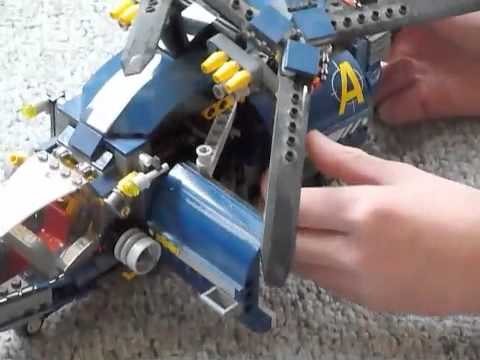 LEGO Aerial Defense Unit Review (#8971)