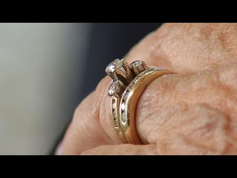 Husband accidently flushes wedding ring wife gets unexpected