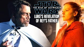 Luke's Revelation Of Rey's Father Leaked! The Rise Of Skywalker (Star Wars Episode 9)