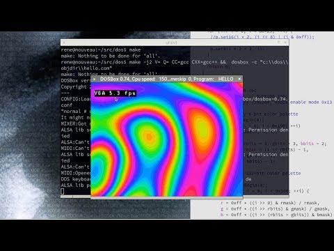 MSDOS Development With GCC | Hackaday