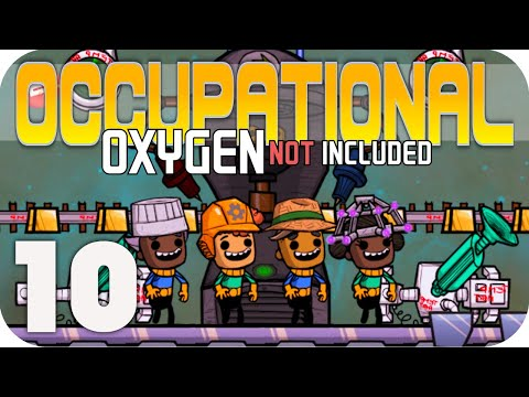 NEW EMPLOYMENT DESK!!! - Oxygen Not Included ▶OCCUPATIONAL UPGRADE◀  EP10 ONI JOBS UPDATE