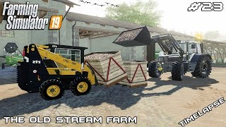 Packing sugar beet in boxes | Animals on The Old Stream Farm | Farming Simulator 19 | Episode 23