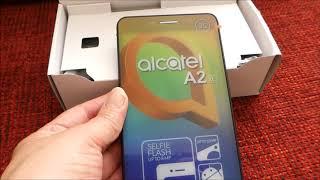 ALCATEL A2 XL Unboxing  - Ausgepackt!