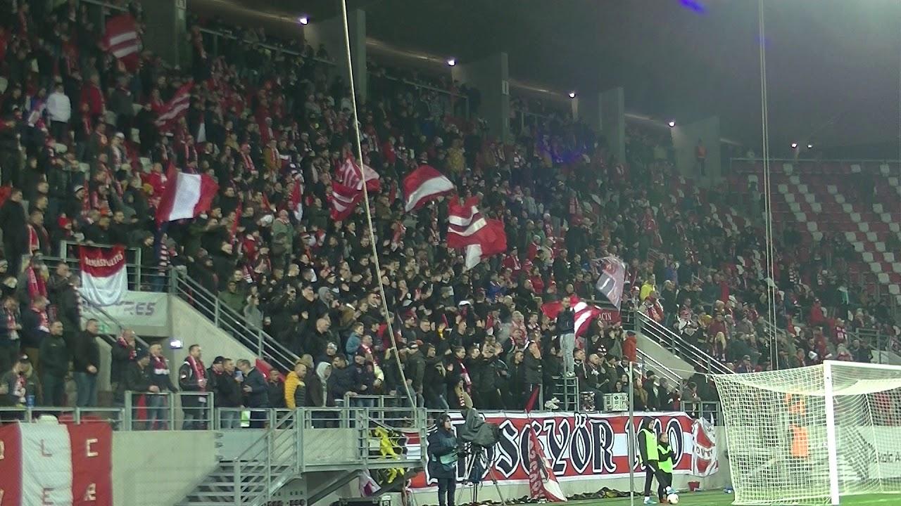 DVTK vs. MOL Fehérvár FC 19/20 - Ultras Diósgyőr IV. - YouTube