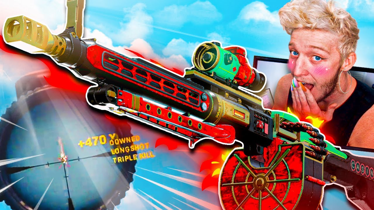 Download the gun that ruined warzone...