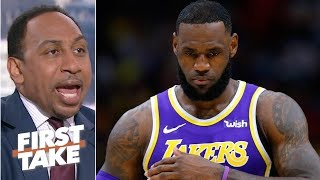 LeBron James is the Lakers' biggest problem - Stephen A. | First Take