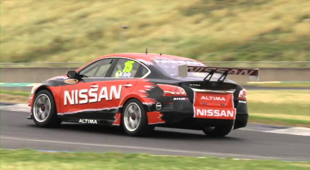 Nissan Australia Nissan Altima Supercar First Drive Youtube