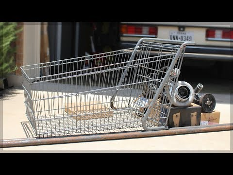 Im Building A Shopping Cart Go-Kart! | DIY pt. 1