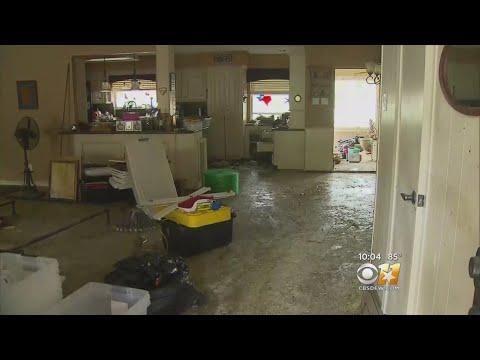 Houston-Area Neighborhood Patrols For Looters After Flooding