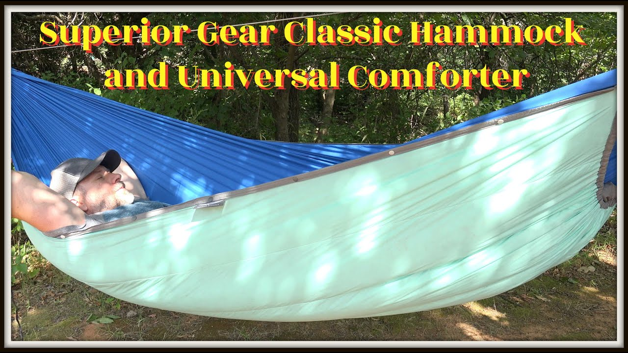 Superior Gear // Classic Hammock and Universal Comforter // Top Quilt and Under Quilt