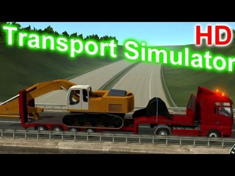 Special Transport Simulator - Crawler Excavator Gameplay HD