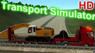 Special Transport Simulator - Crawler Excavator Gameplay HD