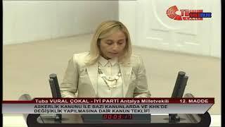 Tuba Vural Çokal | Meclis Konuşması | 25 Temmuz 2018 | Torba Yasa Görüşmeleri