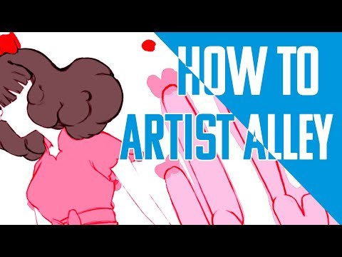 Art and Chat: Session 8 : Last min con planning how to artist alley