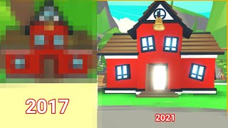 2021 VS 2017! Roblox Adopt Me