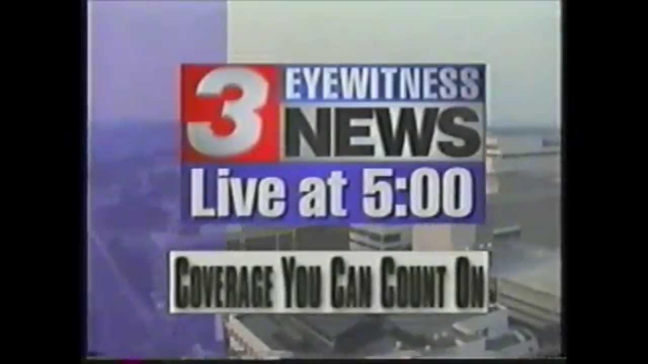 Eyewitness News Live At 5:00 WRCB Chattanooga Promo 1997