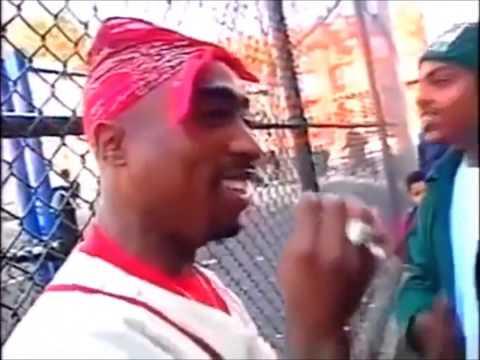 2Pac in Harlem (Rare) NY