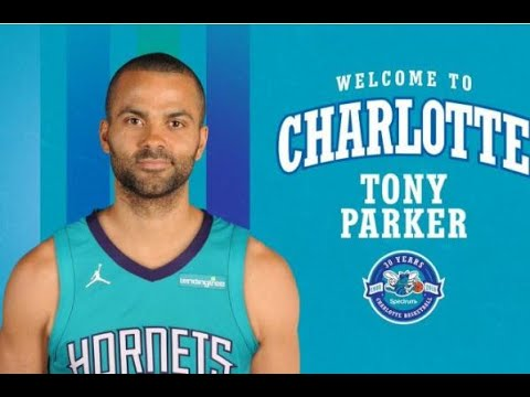 Charlotte Hornets officially sign guard Tony Parker. Basketball News da449f5d9