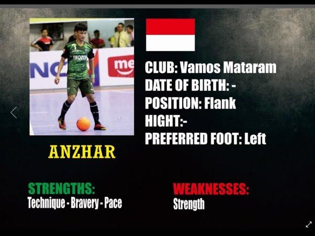 ANZAR ANCHA 7  - Skills,Goal,Drible,Assist PFL2018 - Vamos Mataram Fc