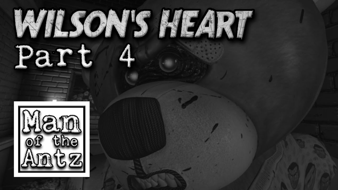 fighting off teddy bears and the undead in wilson u0027s heart on