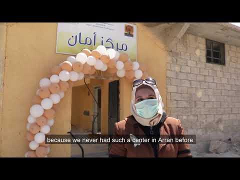 New Women & Girls Safe Space in Eastern Rural Aleppo