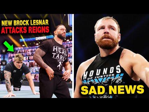 New Brock Lesnar Debuts & Attacks Roman Reigns...Dean Ambrose Shocking Sad News...WWE News