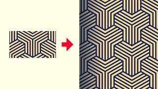 Illustrator Line Pattern Tutorial | Repeatable & Seamless