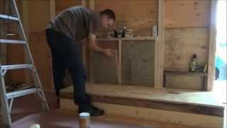 Insulating Kitchen Walls And Reinforcing Sheathing On My Tiny House
