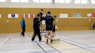 GPA U15 Vinoř finále MD Adam Ehm Jan Hora - Vratislav Erhart Adam Šulc - 1. set
