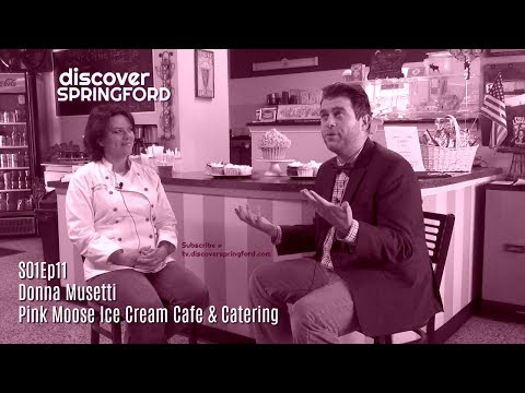 Discover SPRINGFORD S01Ep11: Pink Moose Ice Cream Cafe & Catering